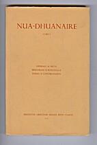 Nua-Dhuanaire. Cuid I. by Pádraig De Brún