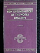 History of the World Since 1914 by J. H.…