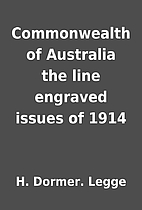 Commonwealth of Australia the line engraved…