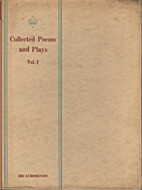 Collected Poems and Plays by Aurobindo Ghose
