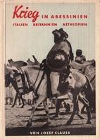 Krieg in Abessinien, Italien, Britannien,…