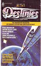 Destinies Vol. 1, No. 4 by James Baen