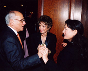 Author photo. Blanche Cirker (center of photo)
