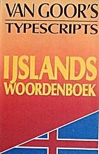 IJslands woordenboek :…