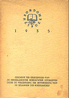 Rondom het boek, 1935 by Roel Houwink