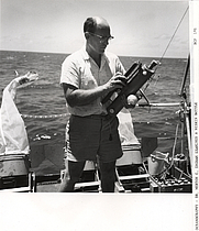 Author photo. Merton C. Ingham [credit: NOAA Central Library Historical Fisheries Collection]