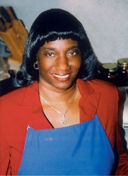 Author photo. Photo of cookbook author and celebrity chef Sallie Ann Robinson by Karen M. Peluso.
