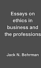 Essays on ethics in business and the…