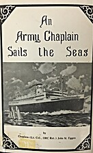 An Army Chaplain Sails the Seas: An…
