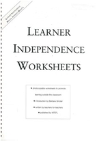 Learner independence worksheets :…