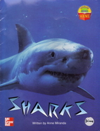 Sharks (leveled SCIENCE 3) by Anne Miranda