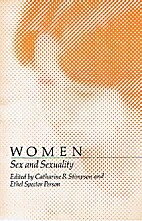 Women--Sex and Sexuality by Catharine R.…