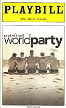 End of the World Party Playbill: 47th Street…