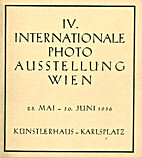IV. Internationale Photo Ausstellung Wien,…