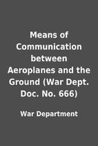 Means of Communication between Aeroplanes…