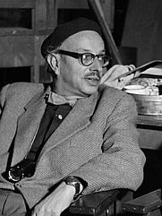 Author photo. Gerard Rutten in 1953 [credit: Willem van de Poll; source: Nationaal Archief; grabbed from Wikipedia]