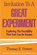 Invitation to a Great Experiment: Exploring…