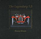 The Legendary 2.3 Alfa Romeo 8C2300 (three…