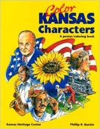 Color Kansas Characters Poster/Coloring Book…