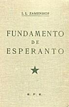 Fundamento de Esperanto by L. L. Zamenhof