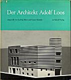 Der Architekt Adolf Loos : Darstellung…