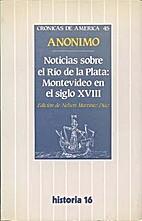 Noticias sobre el Río de la Plata:…