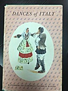 DANCES OF ITALY ( HANDBOOKS OF EUROPEAN…