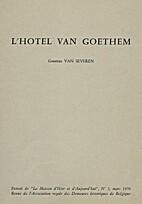 Het Huis Van Goethem: Nog een Gents…