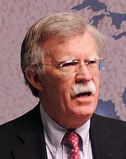 Author photo. John R Bolton. Photo courtesy of Chatham House.