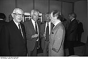 Author photo. Hans von Herwarth (left)