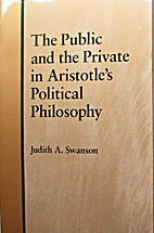 The Public and the Private in Aristotle's…