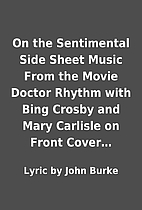On the Sentimental Side Sheet Music From the…