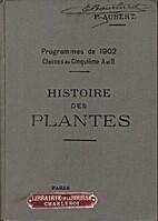 Histoire des plantes (Programmes de 1902…