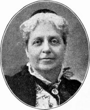 Author photo. Helen Stuart Campbell (1839-1918). Image from What a young woman ought to know (1913) by Mary Wood-Allen