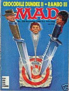 MAD Magazine #320 - Dec 1988 - Crocodile…