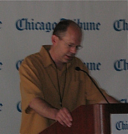 Author photo. Photo by Lilithcat, taken at Printers Row Book Fair, 7 June 2008