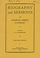 Biography and sermons of Marshall Keeble,…