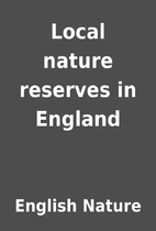 Local nature reserves in England by English…