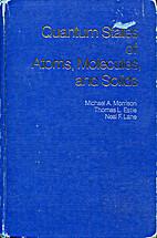 Quantum States of Atoms, Molecules and…