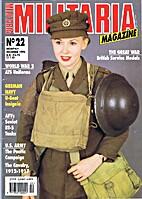 Militaria Magazine, N° 22 ATS Uniforms;…