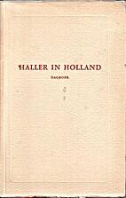 Haller in Holland : het dagboek van Albrecht…