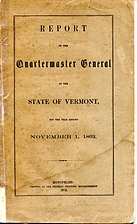 Report of the Quartermaster General of the…