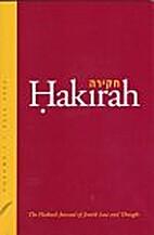 Hakirah: The Flatbush Journal of Jewish Law…