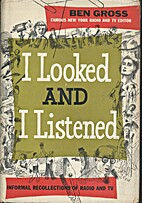 I looked and I listened; informal…
