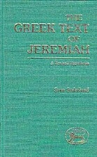 Greek Text of Jeremiah: A Revised Hypothesis…