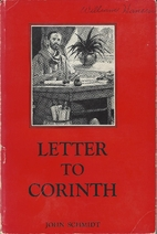 Letter to Corinth by John Schmidt