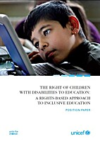 The Right of Children With Disabilities to…