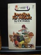 Deadline for McGurk by E. W. Hildick