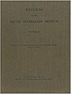 Records Of The South Australian Museum vol.…