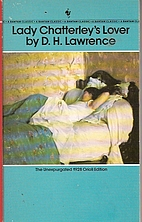 Lady Chatterley's Lover by D. H. Lawrence